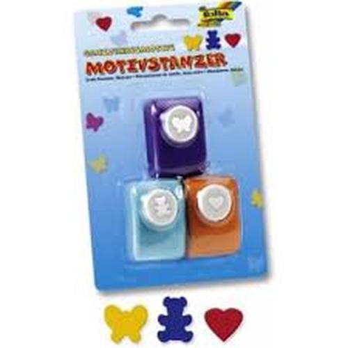 b r max bringmann kg folia motivstanzer 3 motive herz max bringmann kg toys spielzeug. Black Bedroom Furniture Sets. Home Design Ideas